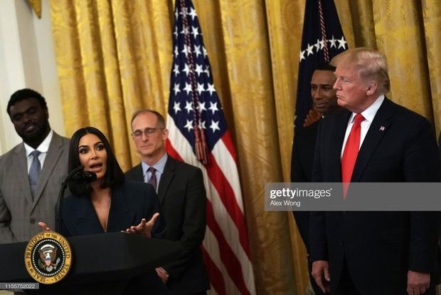 Ким Кардашьян выступила за права бывших заключенных в США